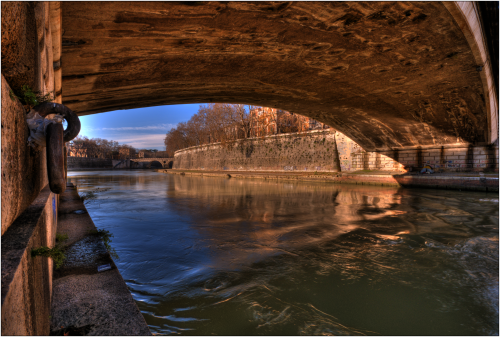 acqua sotto i ponti hdr colore roma marioiscra.it