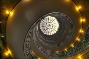 particolare scala musei vaticani hdr colore fede-marioiscra