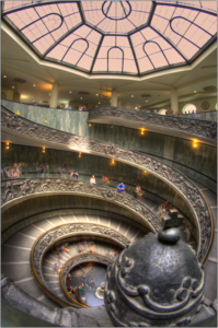 scale musei vaticani hdr colore-marioiscra