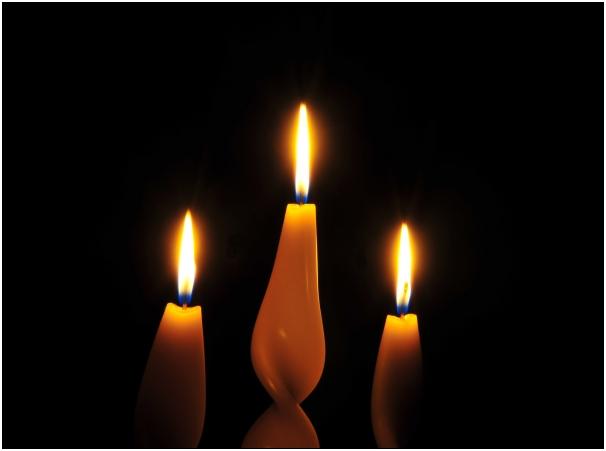 candele accese