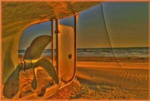 elica su spiaggia