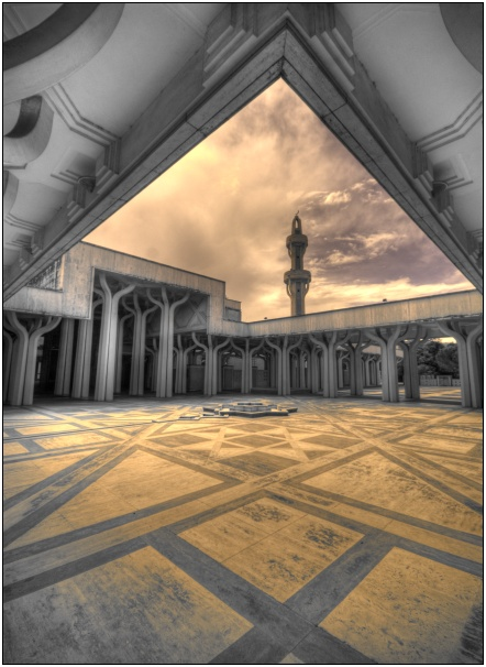 moschea roma hdr