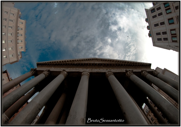 pantheon roma hdr