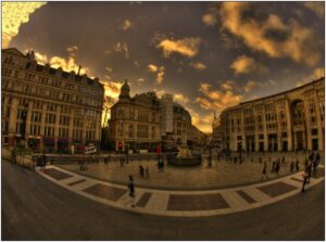 piazza square hdr