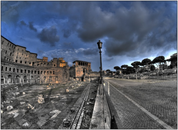 roma storica hdr