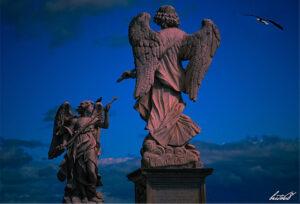 particolare angeli di castel sant angelo