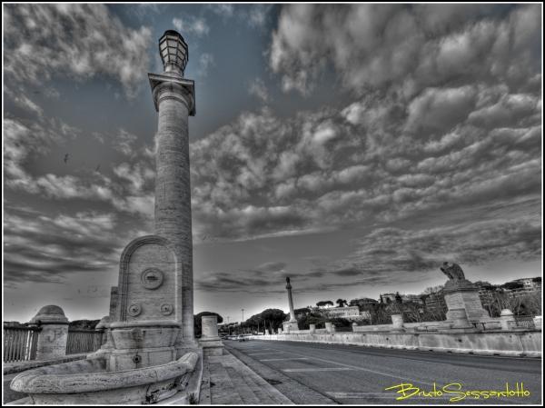 ponte rhdr bianco enero roma