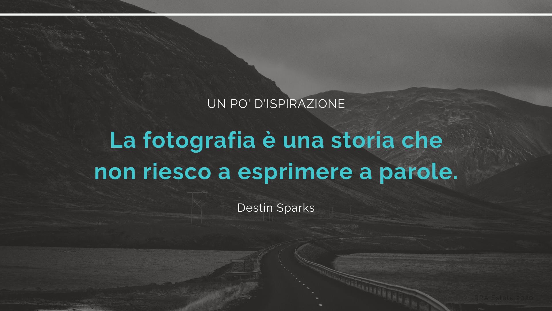la fotografia destin sparks