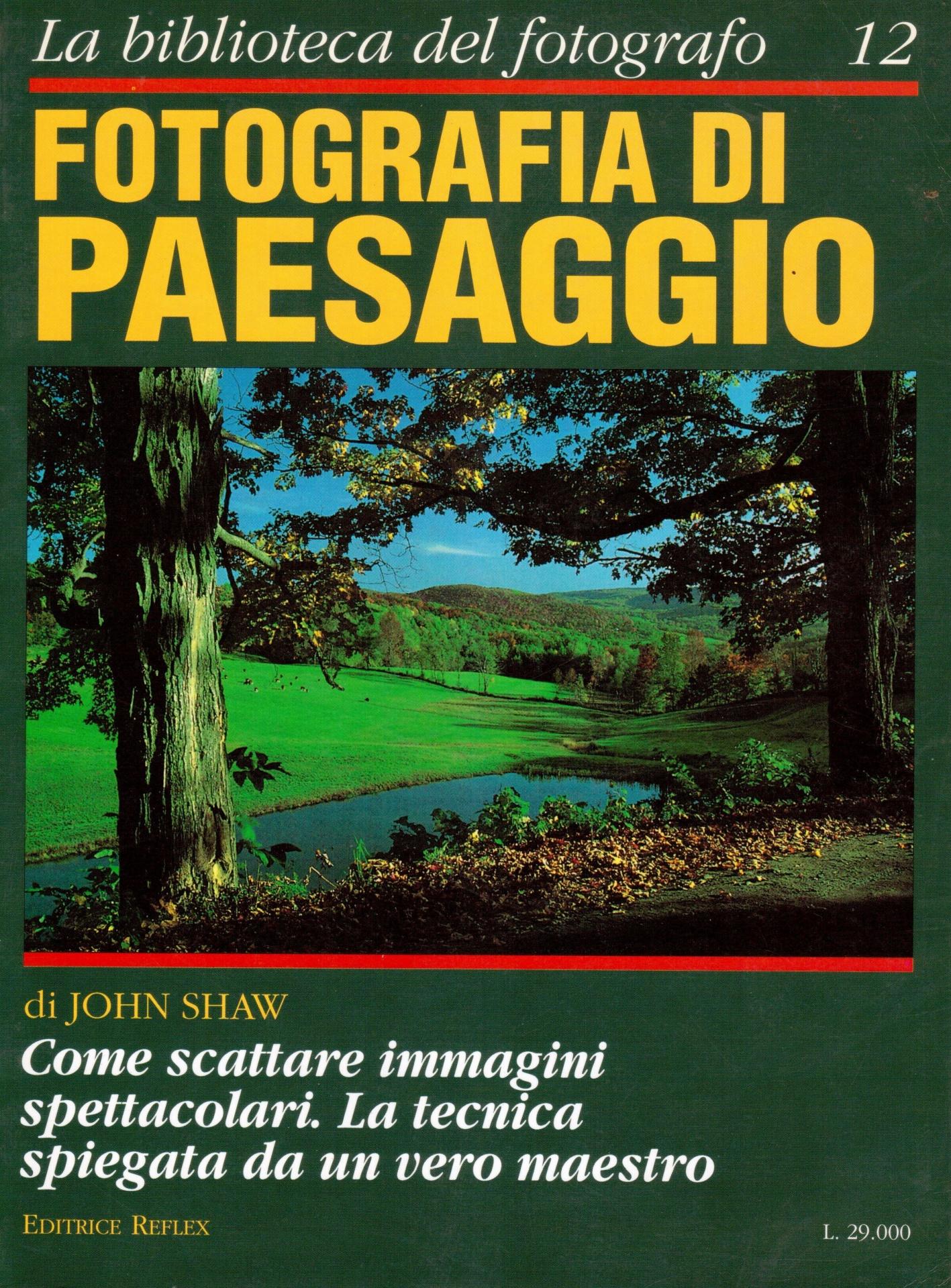 libro fotografia di paesaggio