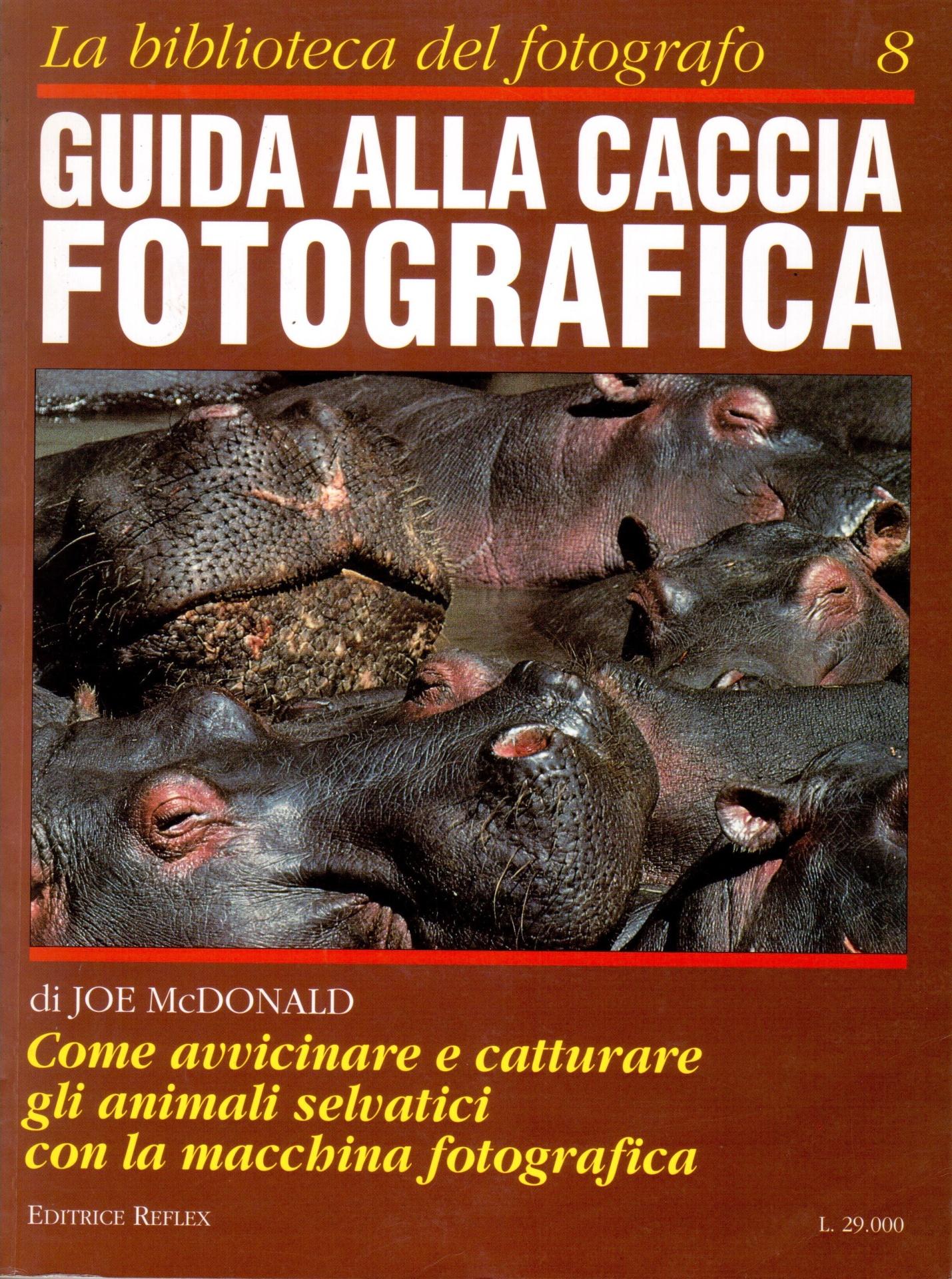 libro guida alla caccia fotografica