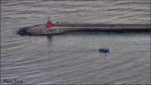nave nel porto rientro dopo pesca