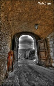 porta della citta vecchia entrata