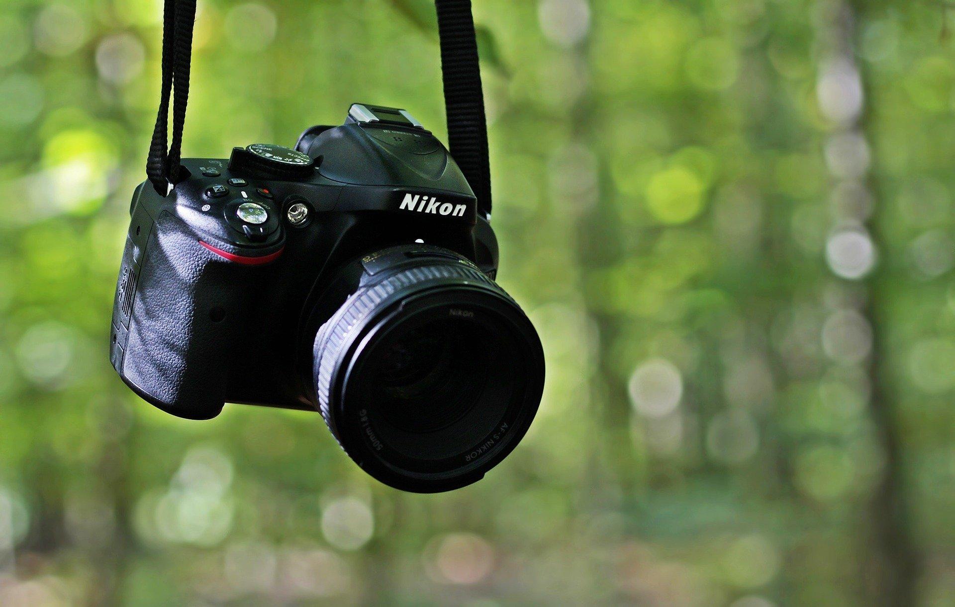 fotocamera dslr