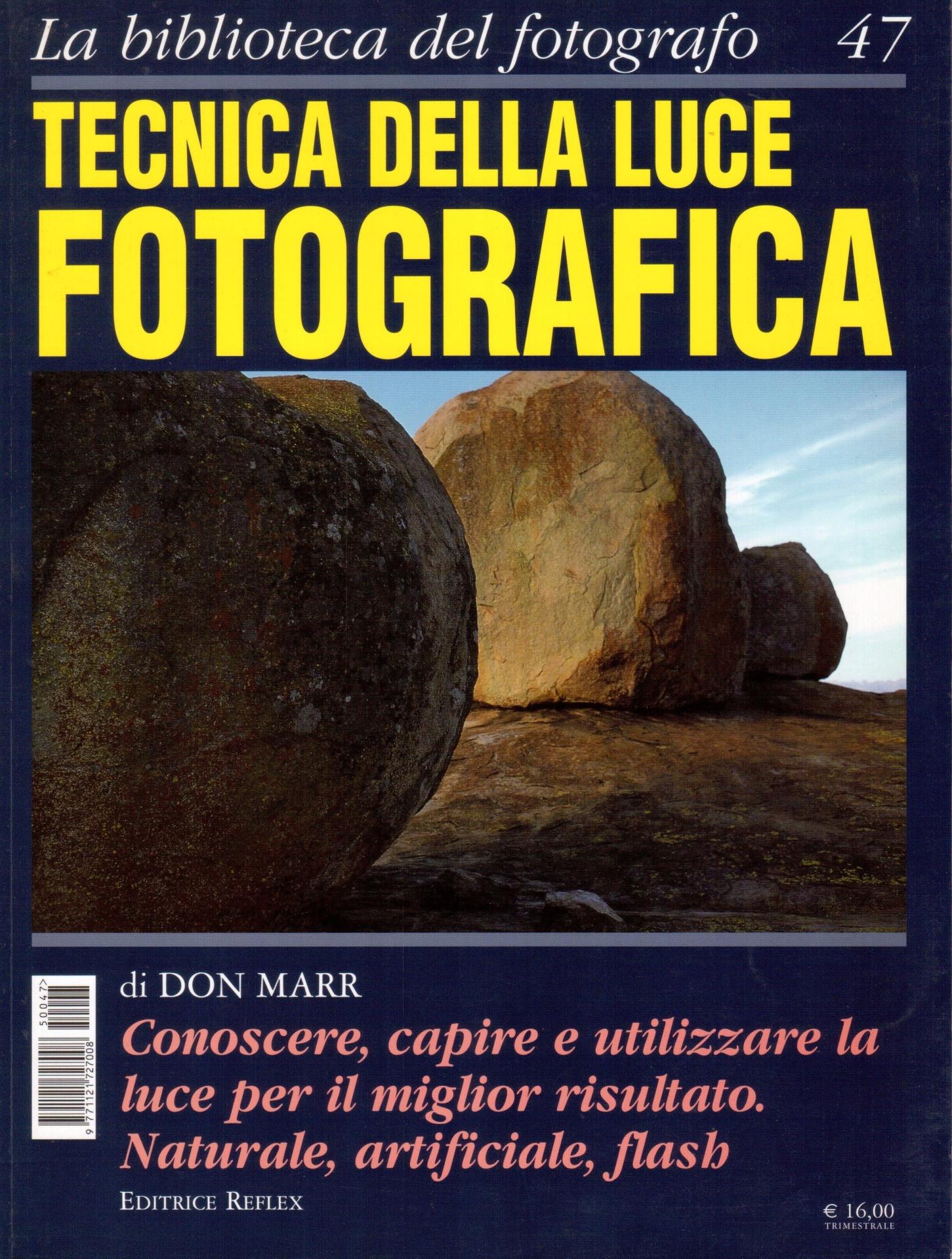 libro tecnica della luce fotografica