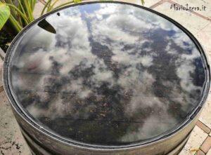 nuvole riflesse