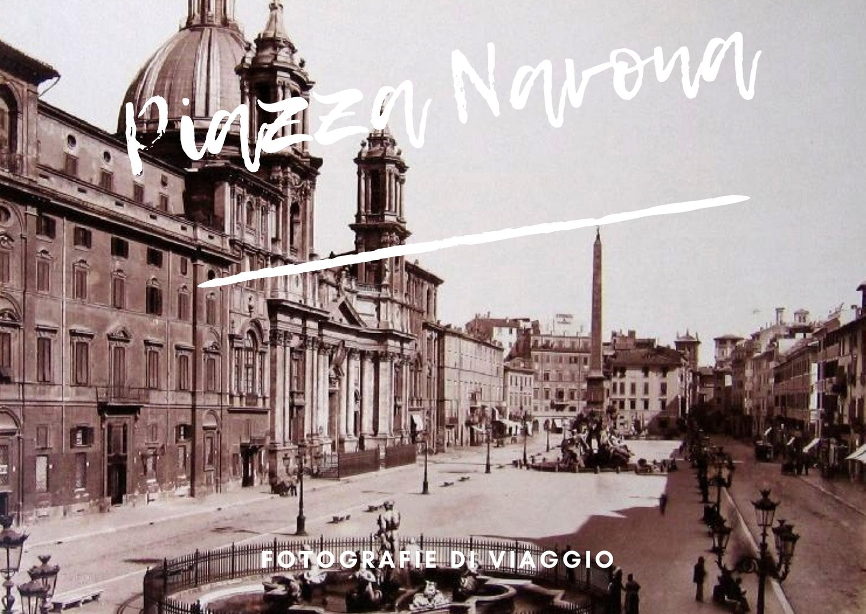 progetti di viaggio cartolina piazza navona
