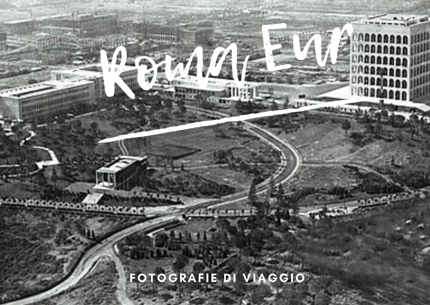 progetti di viaggio cartolina roma eur