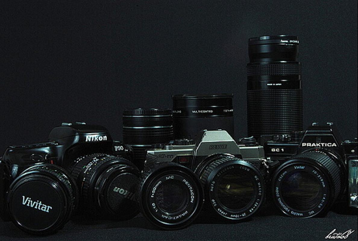 attrezzature fotografiche