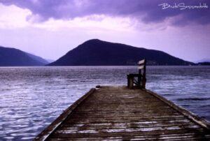 pontile sul lago